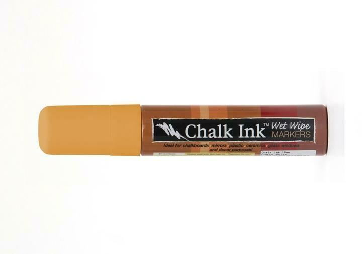 Marker Wet Wipe Chalk Candy Corn Orange 15Mm