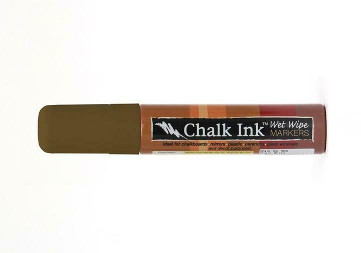 Marker Wet Wipe Chalk Cigar 15Mm