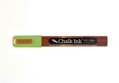 Marker Wet Wipe Chalk Eco Green 6Mm