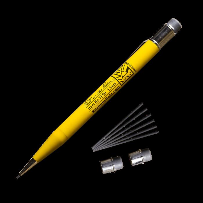 Pencil Mechanical YE99 Yellow Barrel, 1.1Mm HB - Rite In The Rain