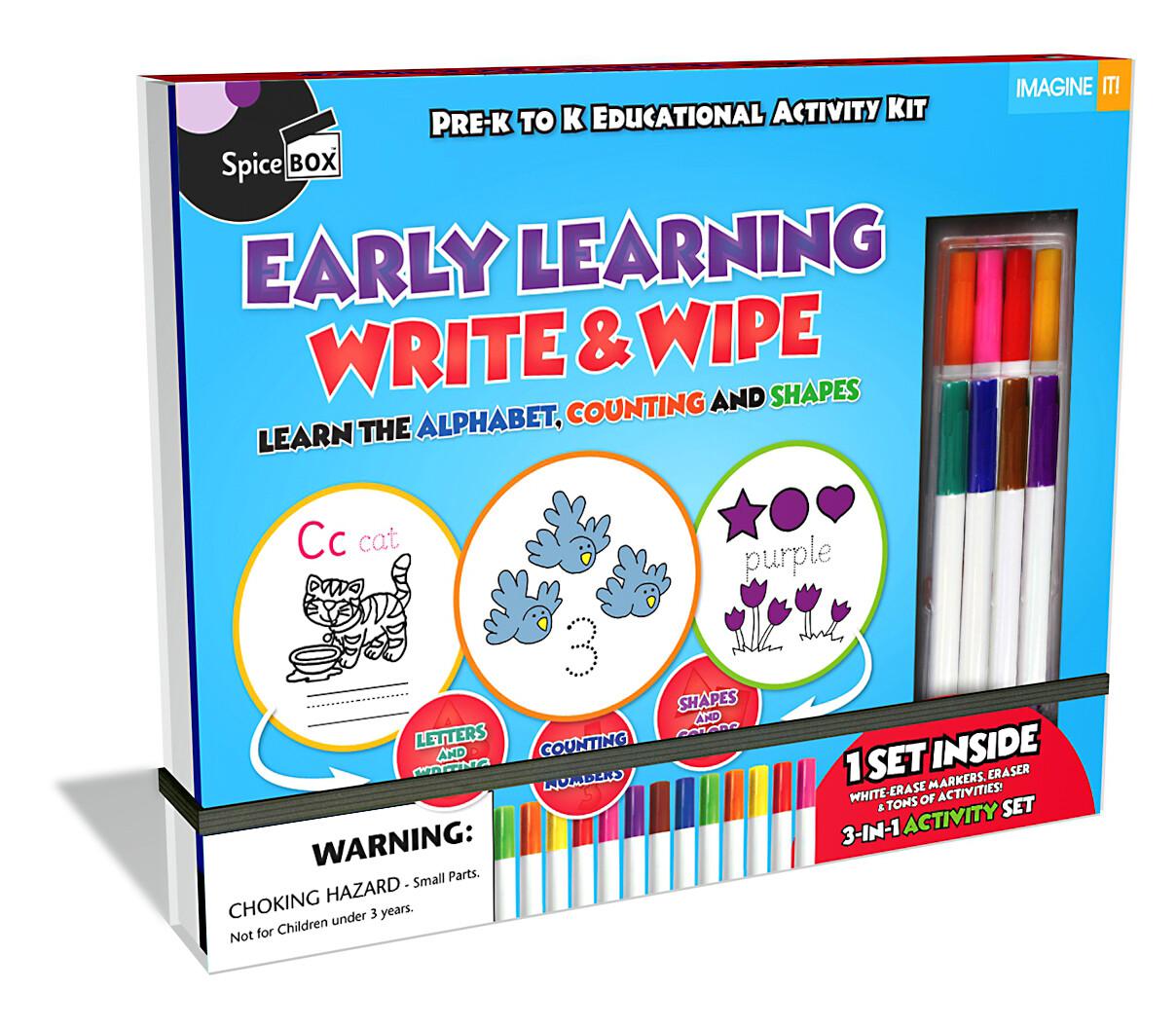 Book Kit: Imagine It 2.0 Write & Wipe