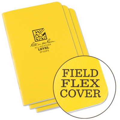 Notebooks 311FX Level Yellow, 3 Pack, 4.75