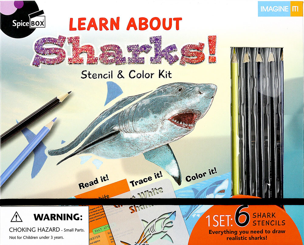Book Kit: Imagine It 2.0 Learn About Sharks