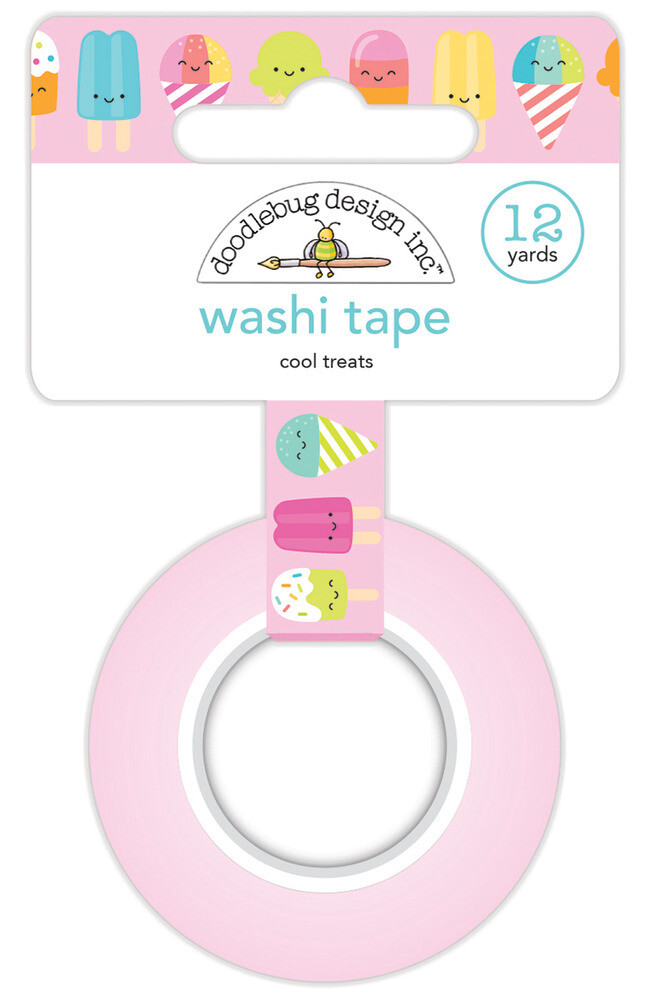 Washi Tape - Cool Treats 15mm 30 Feet