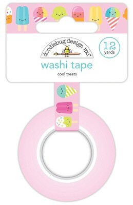 Washi Tape - Cool Treats 15mm 30 Feet