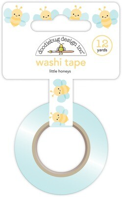 Washi Tape - Little Honeys 15mm 30 Feet