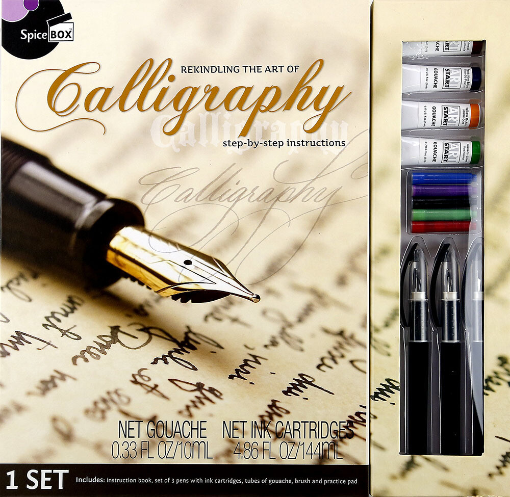 Book Kit: Master Class Calligraphy