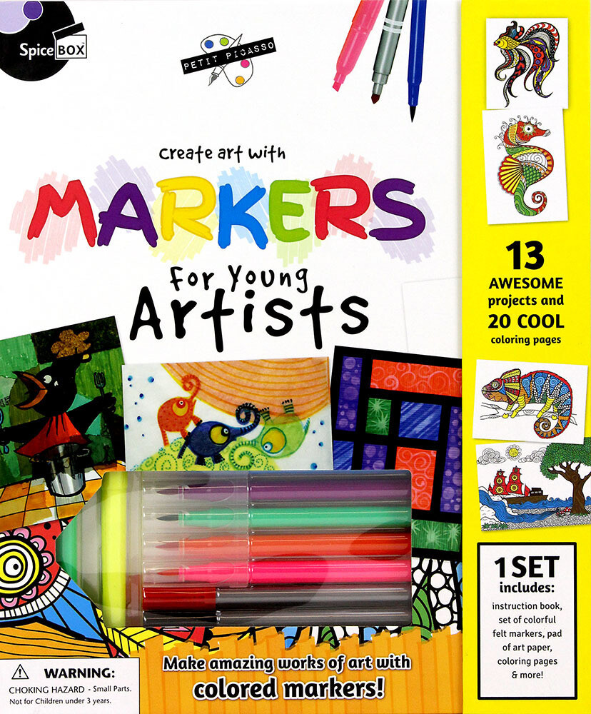 Book Kit: Petit Picasso Pastels For Young Artists