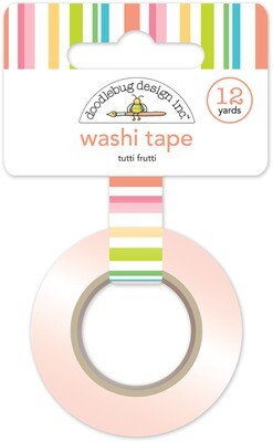 Washi Tape - Tutti Frutti 15mm 30 Feet