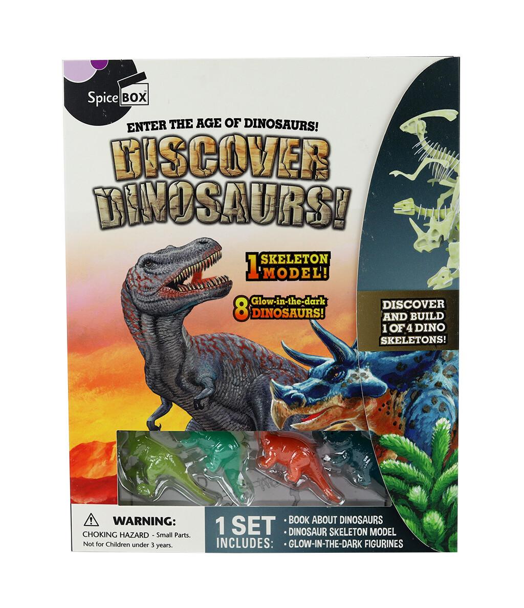 Book Kit: Let'S Make Discover Dinosaurs