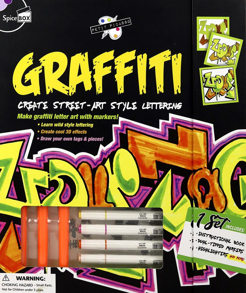 Book Kit: Petite Picasso Graffiti