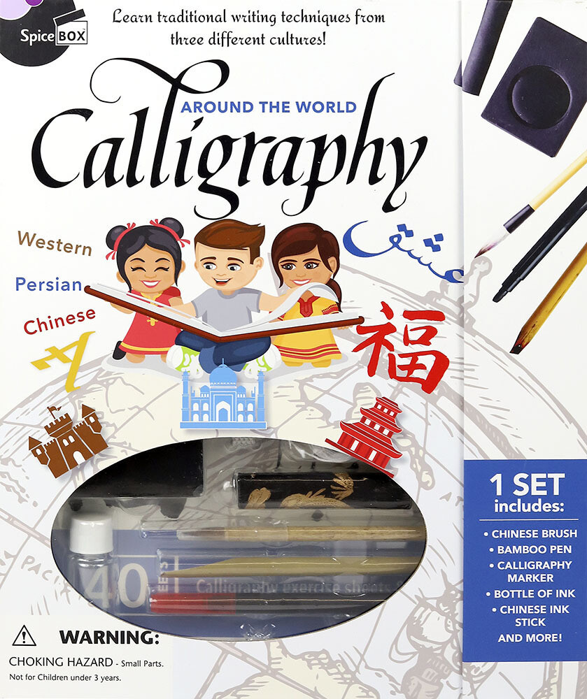 Book Kit: Around The World Calligraphy