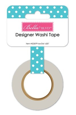 Washi Tape - Ice Dots 15mm 30 Feet