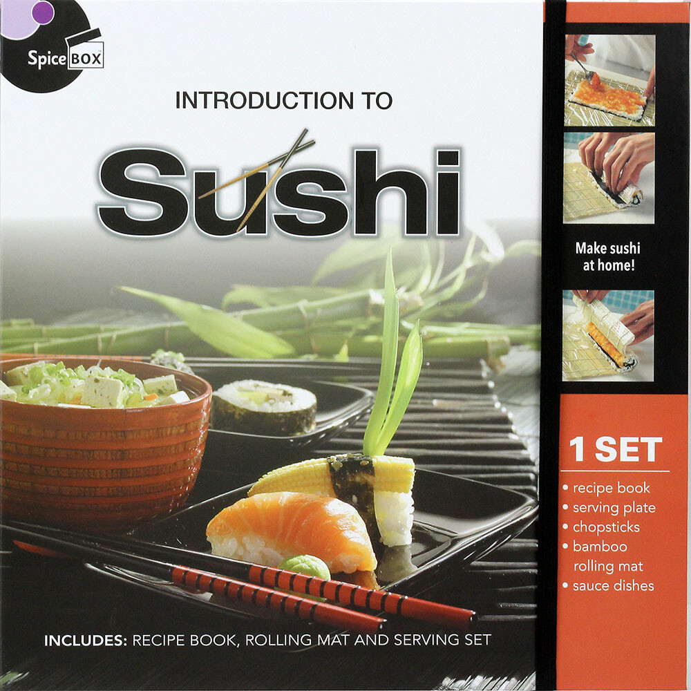 Book Kit: Intro To Sushi