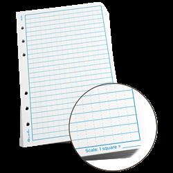 "Paper 372 Standard Loose Leaf Universal 100 Pack, 4.5"" x 4 5/8"" - Rite In The Rain"