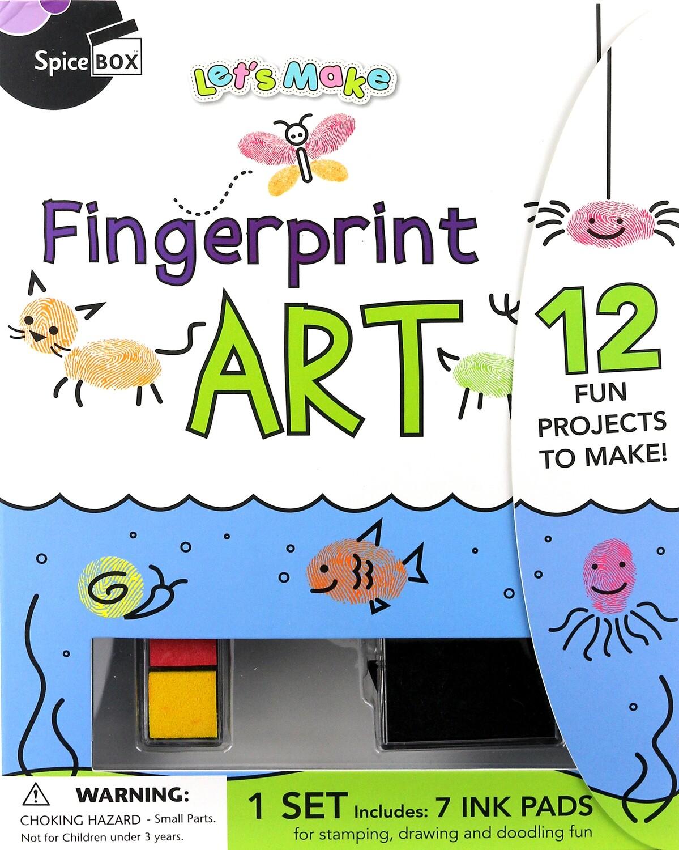 Book Kit: Let'S Make Fingerprint Art