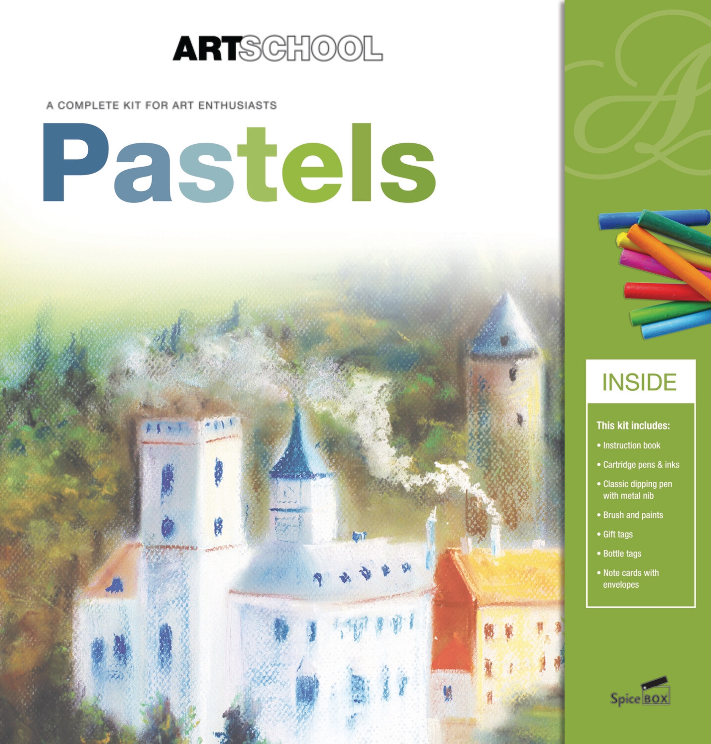 Book Kit: Art School Pastel Art