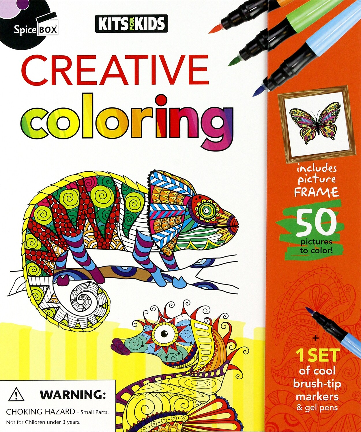 Book Kit: Kits For Kids Creative Colouring