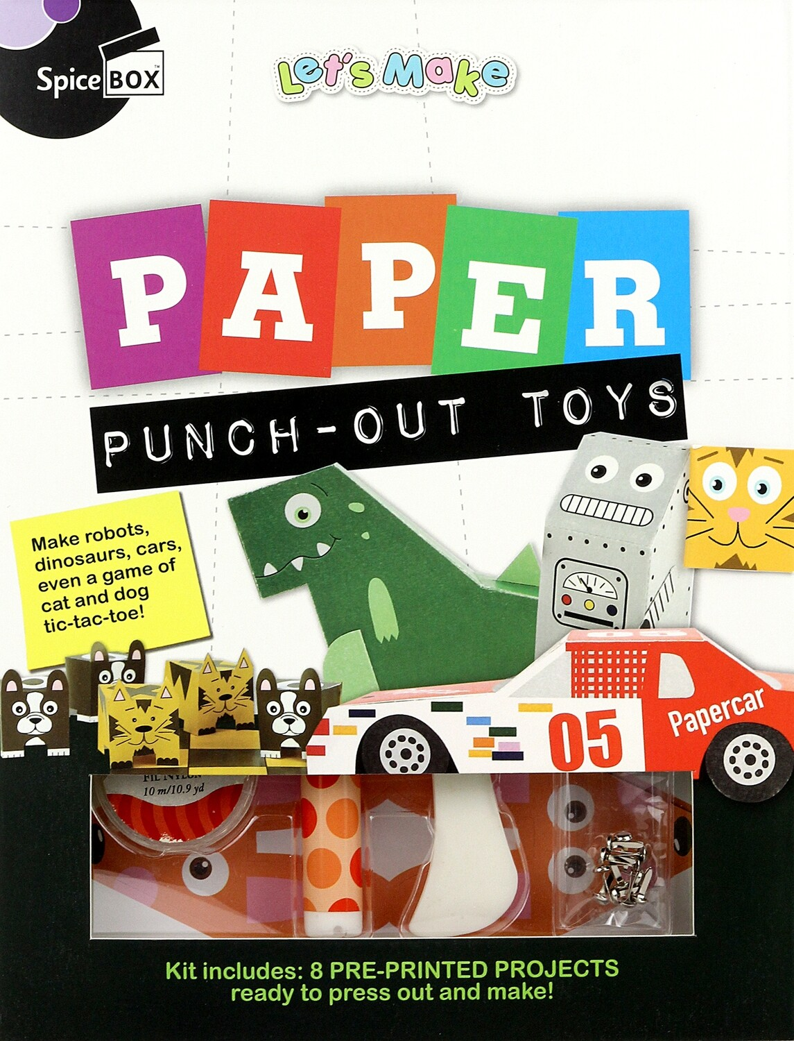 Book Kit: Let'S Make Paper Punch Out