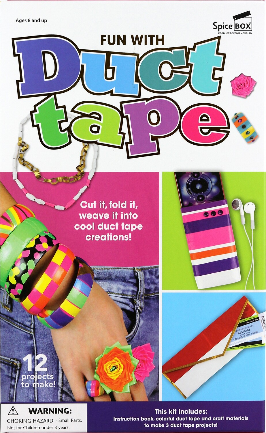Book Kit: Fun With Duct Tape