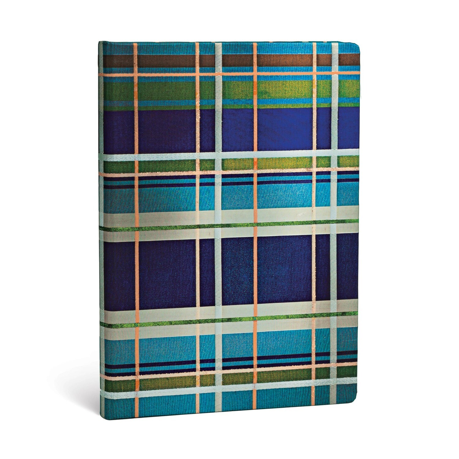 Journal, Lined, Midi Hardcover Davenport - Mad for Plaid