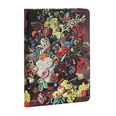 Journal, Unlined, Mini Hardcover Van Huysum - Still Life Burst