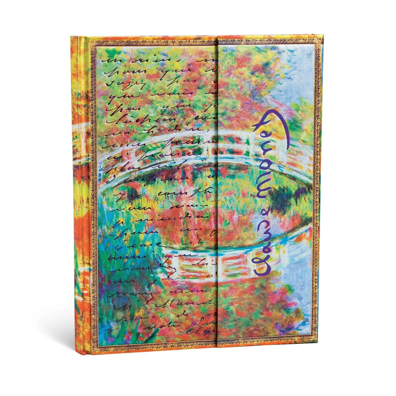 Journal, Unlined, Ultra Monet Bridge