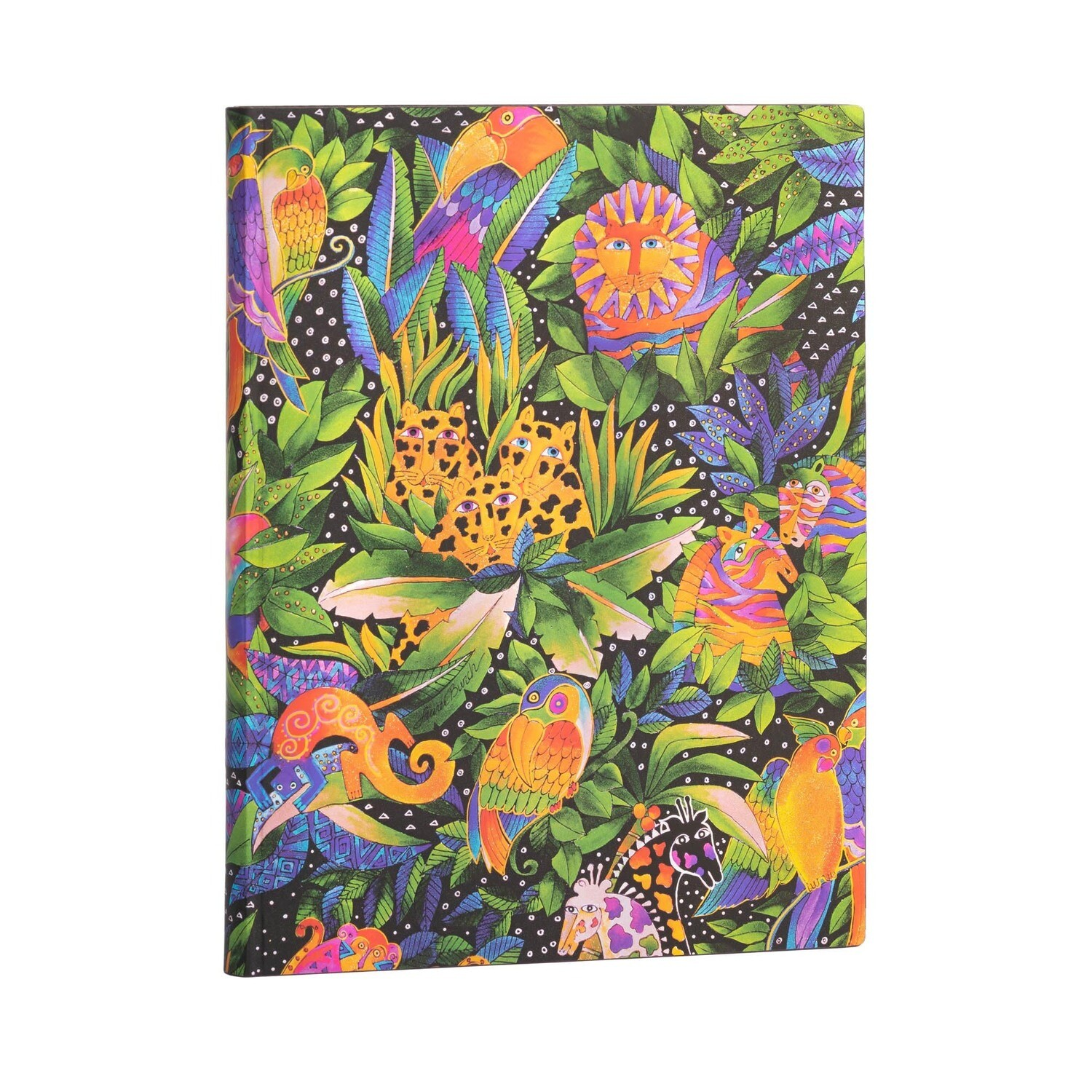 Journal, Unlined, Ultra Softcover Jungle Song - Whimsical Creations