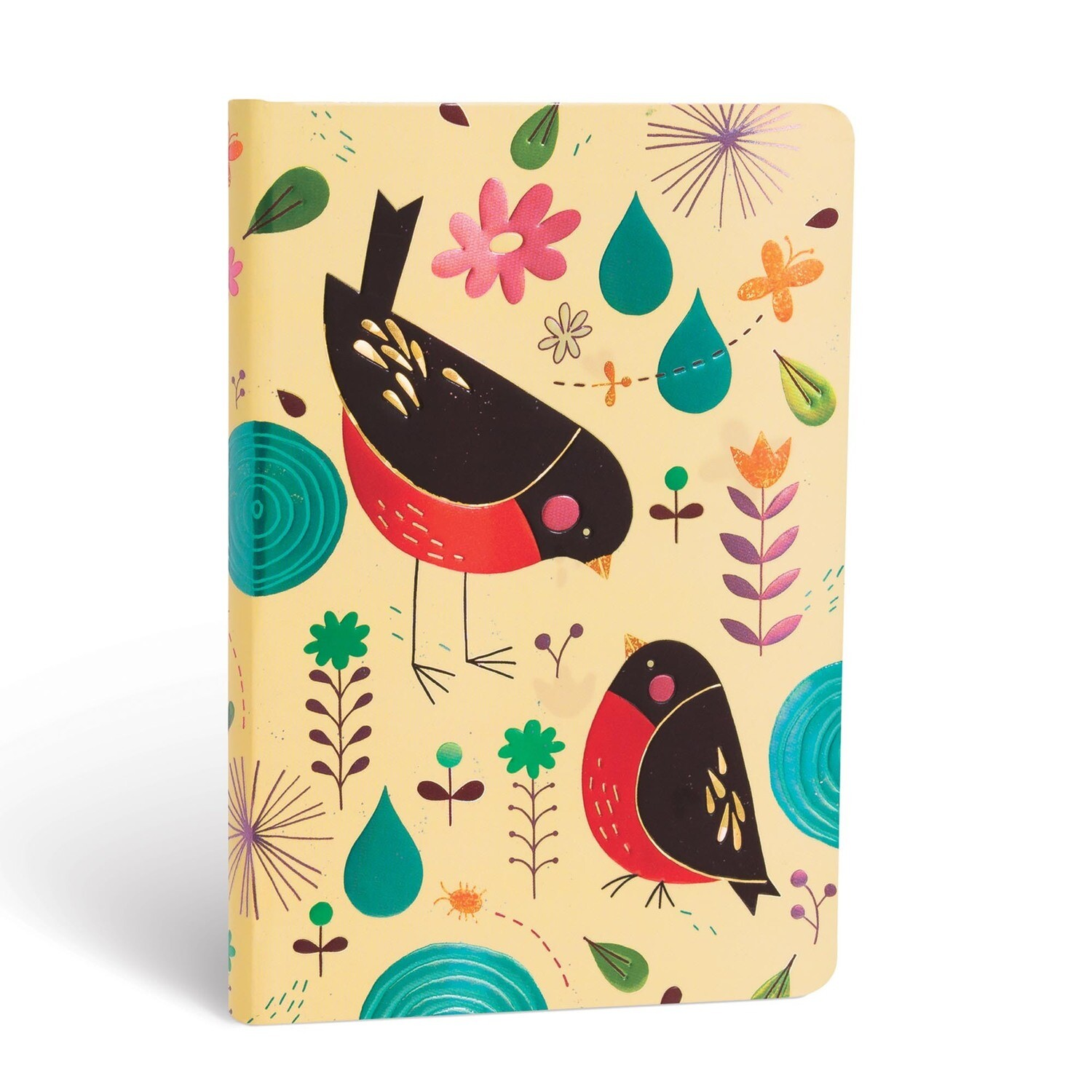 Journal, Lined, Mini Hardcover Mother Robin - Tracy Walker's Animal Friends