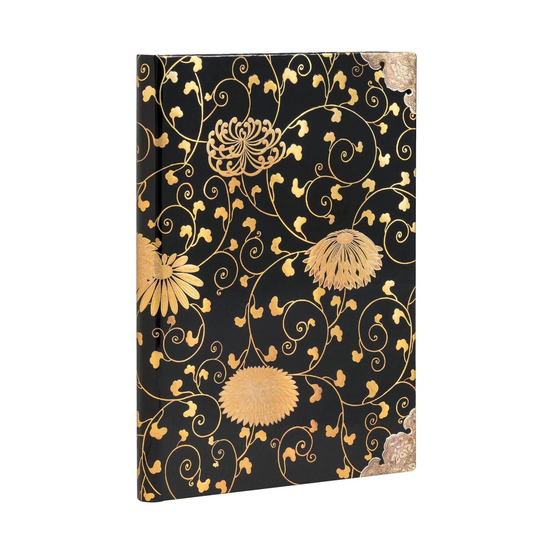 Journal, Unlined, Midi Hardcover Karakusa - Japanese Laquer