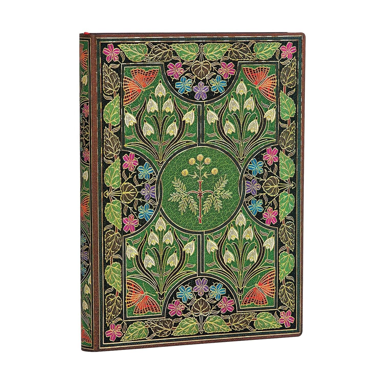 Journal, Unlined, Midi Flexis  Poetry In Bloom