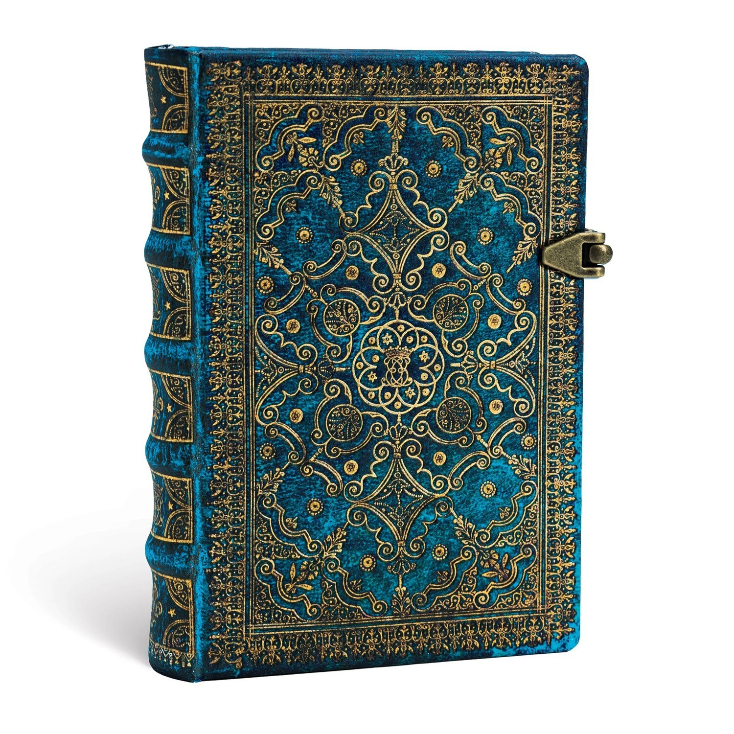 Journal, Lined, Mini Clasp Azure - Equinoxe