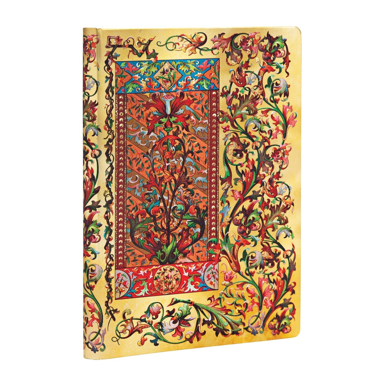 Journal, Unlined, Mini Hardcover Tuscan Sun - Florentine Cascade