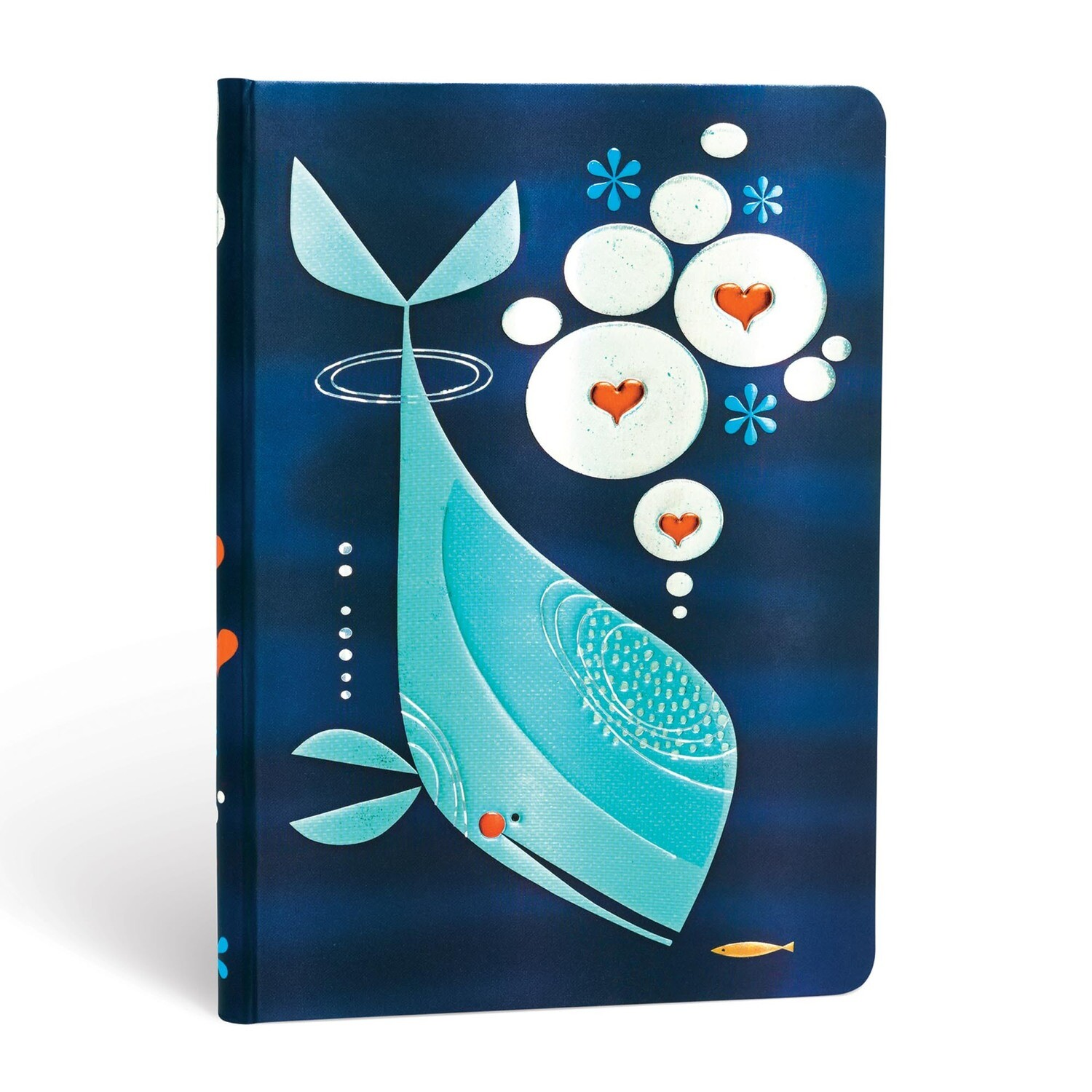 Journal, Lined, Midi Hardcover Whale And Friend - Tracy Walker's Animals