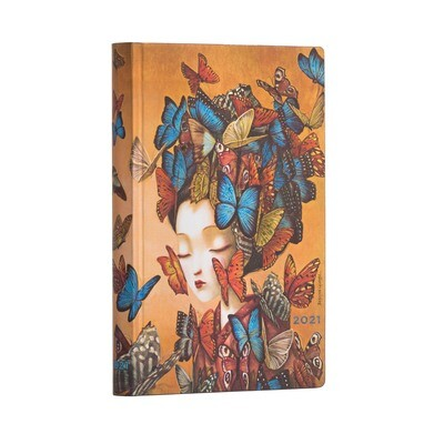 Planner, Weekly, Mini Flexis Madame Butterfly - Espirit de Lacombe
