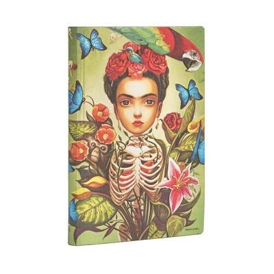 Journal, Lined, Mini Flexis Frida Kahlo - Esprit de Lacombe