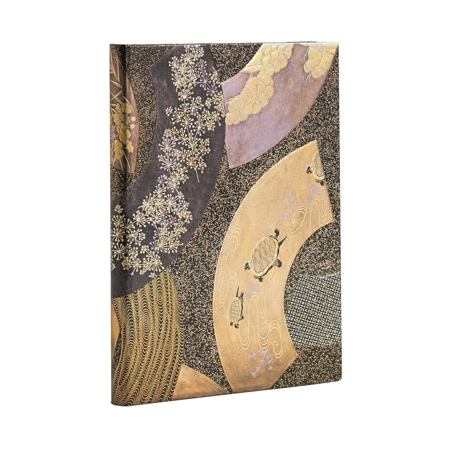 Journal, Unlined, Midi Hardcover Ougi - Japanese Laquer