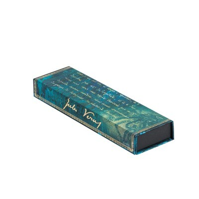 Pencil Case Verne, Twenty Thousand Leagues - Embellished Manuscripts