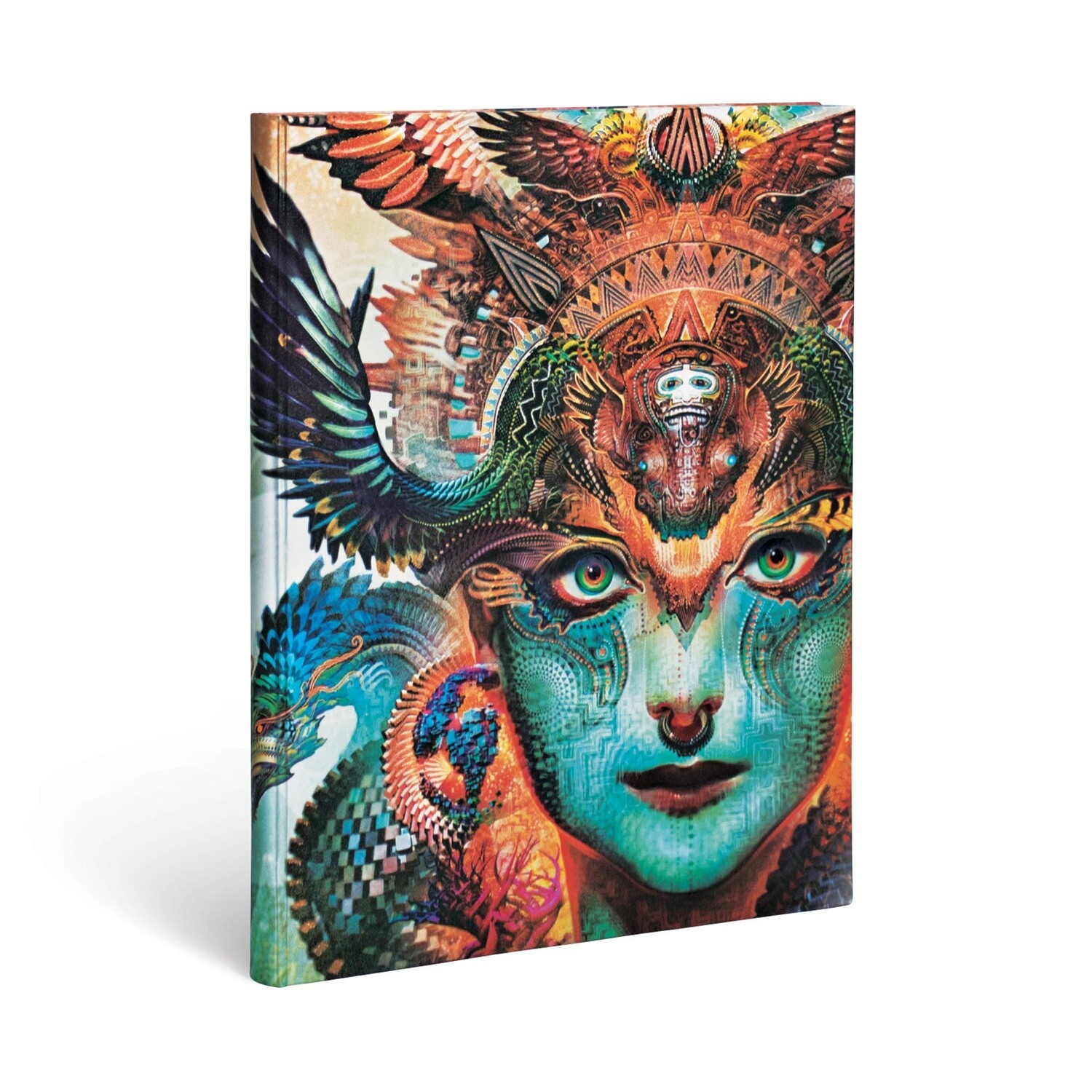 Journal, Lined, Ultra Hardcover Dharma Dragon - Android Jones
