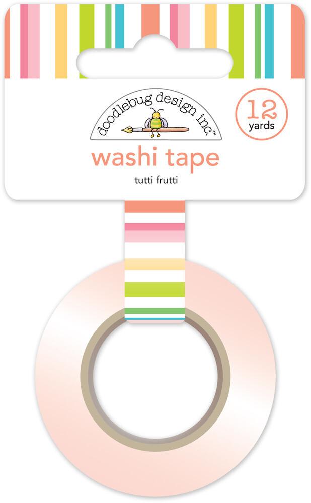 Washi Tape - Tutti Frutti 15mm 30 Feet