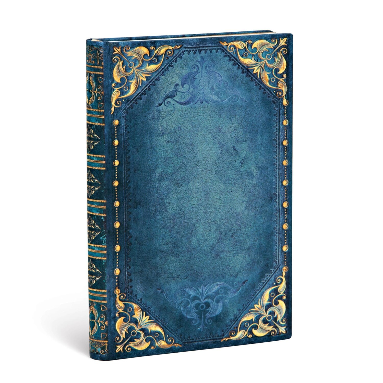 Journal, Unlined, Mini Hardcover Peacock Punk - The New Romantics