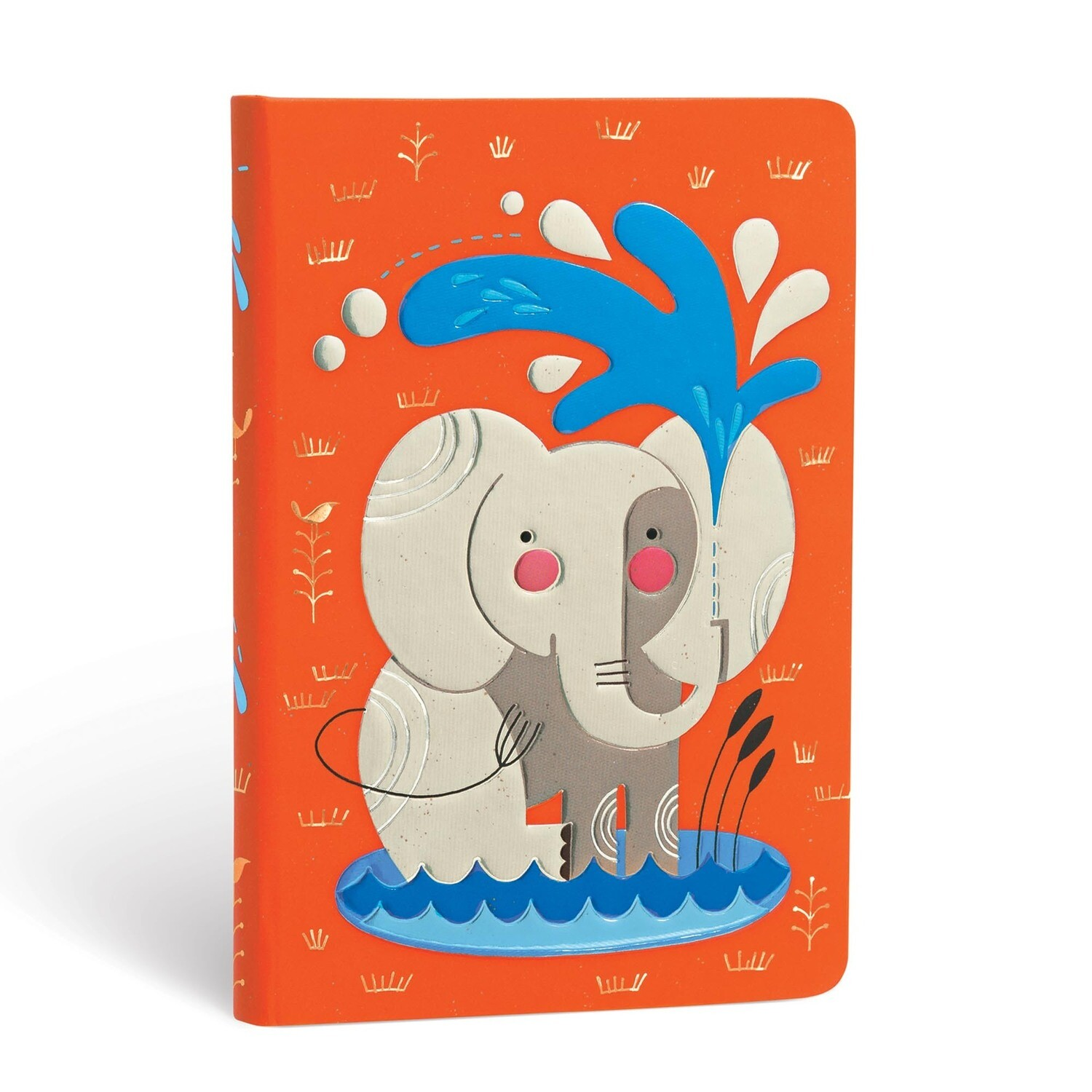 Journal, Unlined, Mini Hardcover Baby Elephant - Tracy Walker's Animals