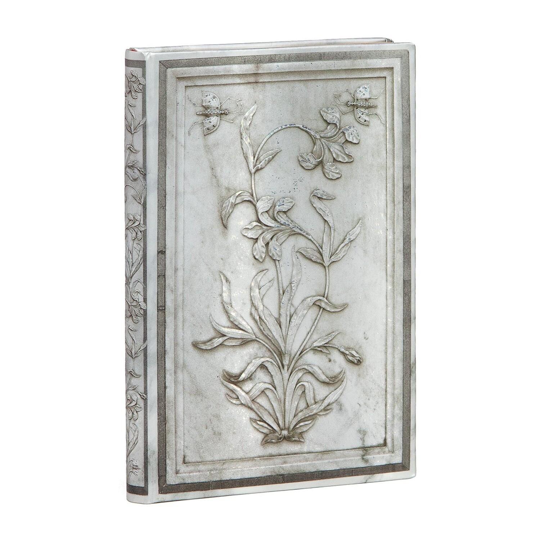 Journal, Lined, Mini Hardcover Lahori -Taj Mahal Flowers