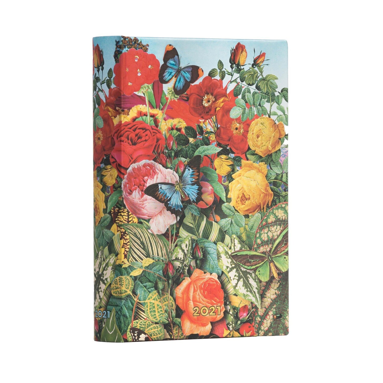 Planner, Yearly Daily, Mini Butterfly Garden