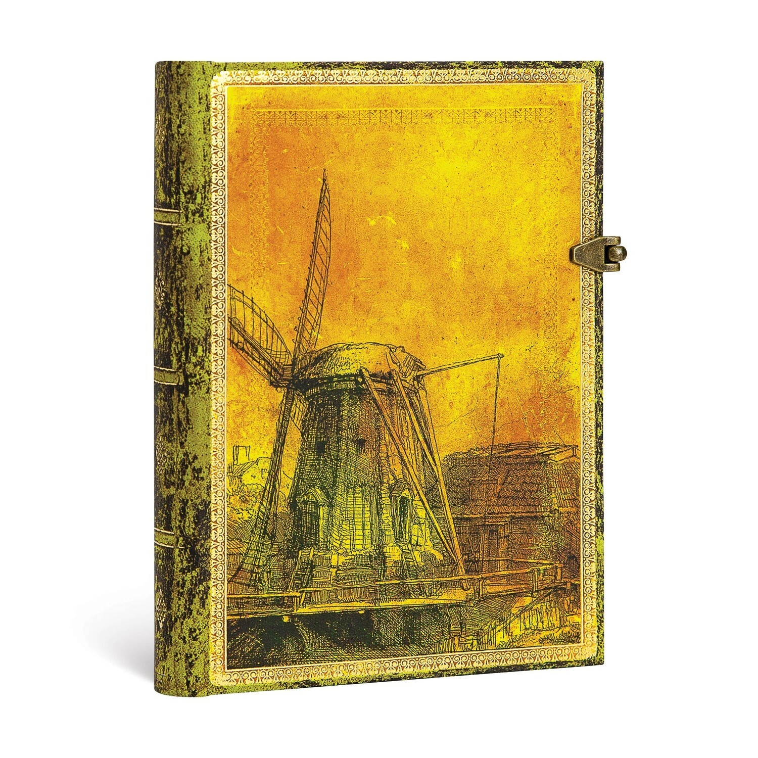 Journal, Lined, Midi Hardcover Rembrandt's 350 Anniversary
