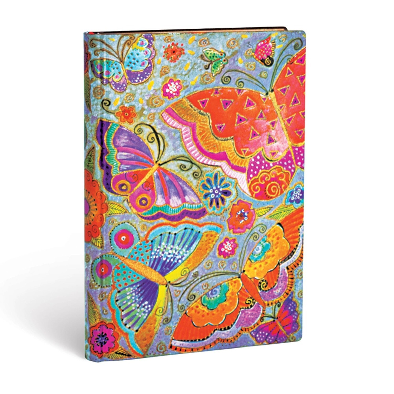 Journal, Lined, Midi Flexis Flutterbyes - Playful Creations