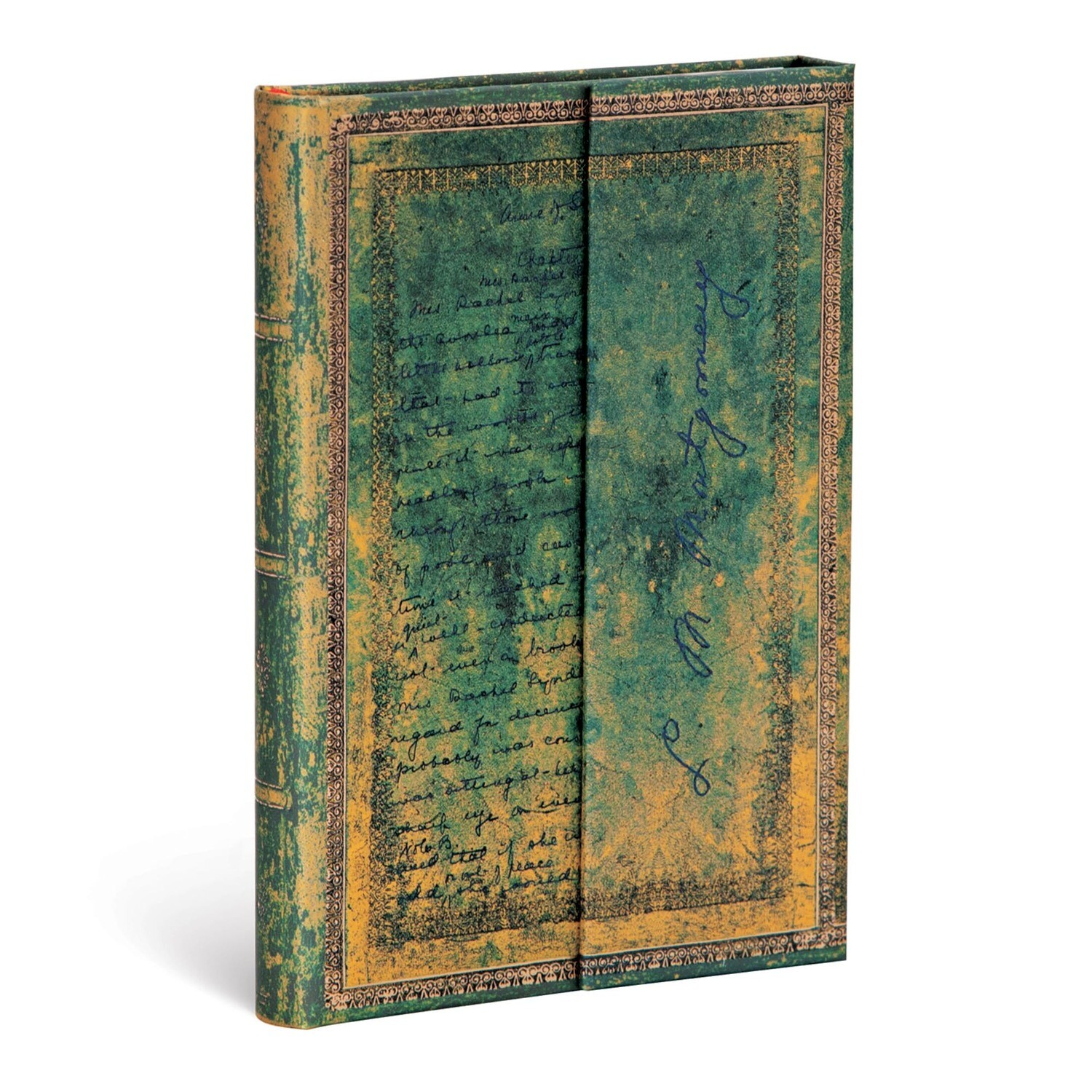 Journal, Lined, Mini Wrap L.M. Montgomery, Anne Of Green Gables - Embellished Manuscripts