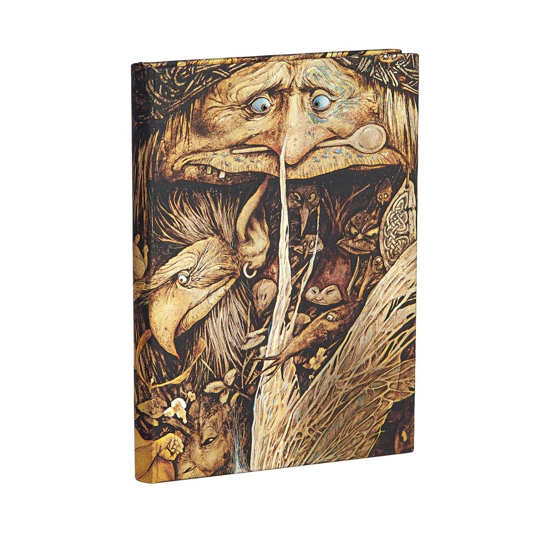 Journal, Lined, Midi Hardcover Mischievous Creatures - Brian Froud