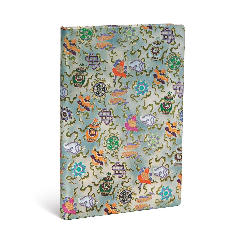 Journal, Lined, Midi Hardcover Shankha - Sacred Tibetan Textiles