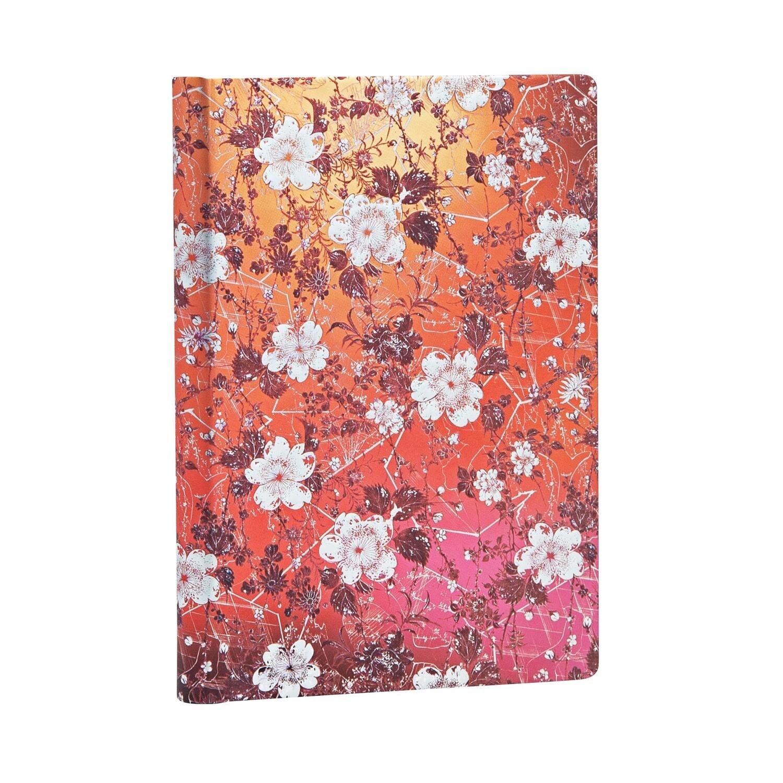Journal, Lined, Mini Hardcover Sakura - Katagami Florals